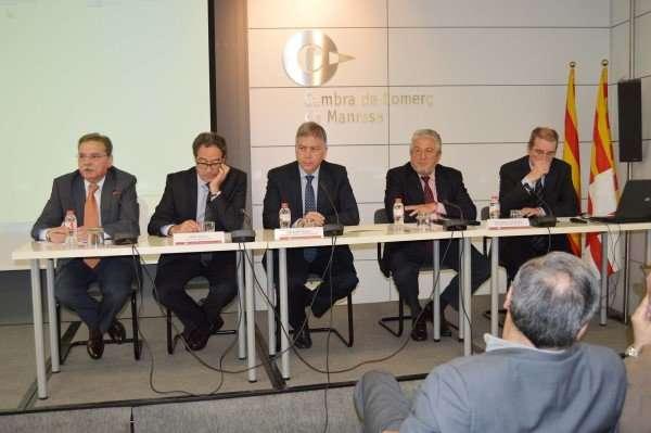 Els ports de Barcelona i Tarragona es reivindiquen com una eina clau per a la internacionalització de les empreses del Bages