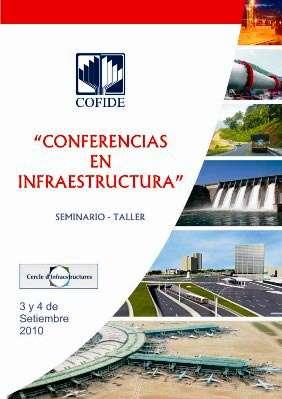 Conferencies sobre Infraestructures a COFIDE