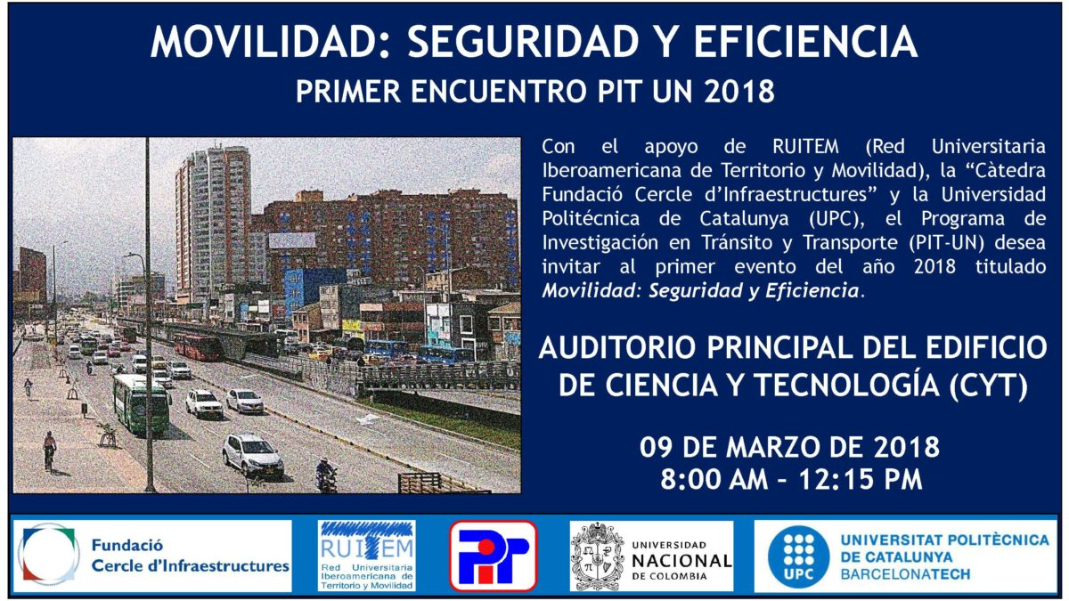 Evento Movilidad Seguridad y Eficiencia - PIT 2018