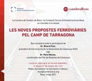 AJORNAMENT: Les noves propostes ferroviàries pel Camp de Tarragona